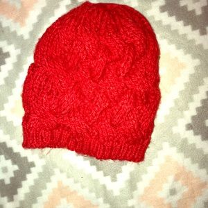 Little red knit hat